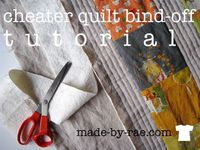 Rae pretends she can quilt (and shares a quick quilting tutorial)