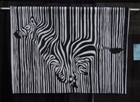 Zebra Quilt by Lisa Goreski