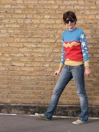 The Wonder Woman Jumper - i want one