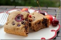 Sweet Cherry Chocolate Chip Cake- yum!
