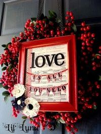 made: Valentine's Decor: Things I Really WANT to Make!