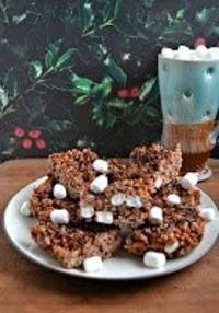 Gluten Free Hot Cocoa Crispy Treats