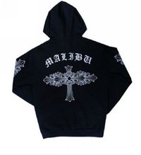 Chrome Hearts Dagger Cross Black Signature Hoodie