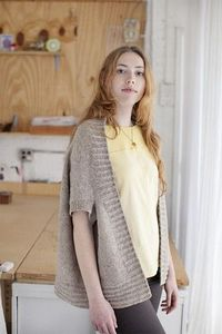 Churchmouse Yarns & Teas - Inversion Cardigan Pattern
