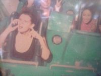 I got the forever alone seat on California Screamin'