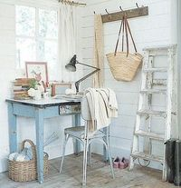 appealing rustic work station