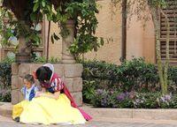 Snow White and mini Snow White