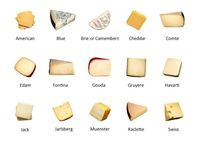 great graphic on melting cheese - Creamy Melters