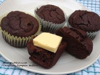 Chocolate-PumpkinMuffins
