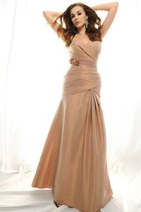 sweetheart bridesmaid gowns