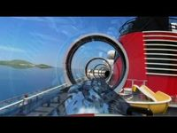 Ride the AquaDuck - Disney Cruise Line