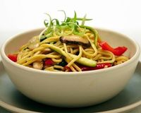 Vegetable Chow Mein - classic stir-fry noodle dish... toss in any variety of fresh vegetables and slices of leftover roast chicken or steak for a hearty one-dish meal