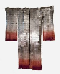 Miya Ando stainless steel and sterling silver kimono