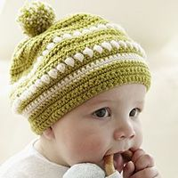Free Crochet Pattern For Child Slouch Hat : Free Pom Pom Hat Pattern / crochet ideas and tips - Juxtapost