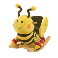 Rockabye 85038 Buzzy Bee Rocker