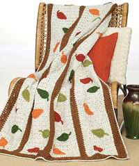 Ravelry: Falling Leaves Afghan WR1039 pattern by Coats & Clark