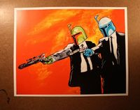 Boba & Jango - Star Wars / Pulp Fiction mash-up