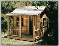 Mountain Cabin Play House Plans