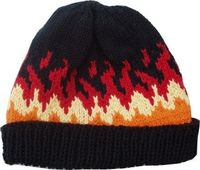 Hot Rod Flames Cap and sock pattern