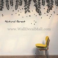 Natural Forest Flower Wall Decals