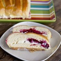 Cranberries and Cream Cheese Bread