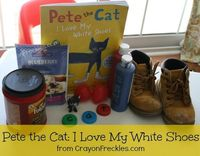 crayonfreckles: Pete the Cat: I Love My White Shoes