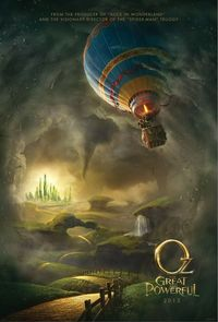 Oz the Great and Powerful - pretty excited to see this!