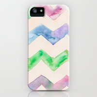 California Style Chevrons iphone case by Catherine Holcombe for Society6