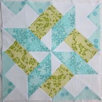 Quilting: Starry Skyline Quilt Block