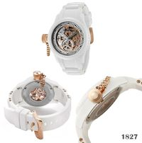 Invicta white coloured ceramic wrist watch exclusively designed for women