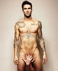 Adam Levine Poses Nude for Prostate Cancer Awareness