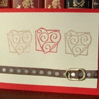 Soda Can Pull-tab Buckle Card