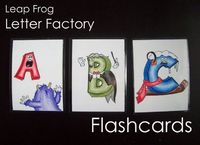Running With Scissors: Leap Frog Letter Factory Flash Cards.