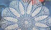 Lace Wheat Doily ~ free pattern