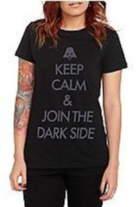 Star Wars Keep Calm Girls T-Shirt from Hot Topic for $15.00