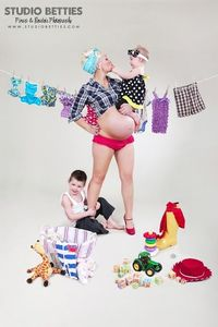 Maternity Pinup Photography from Studio Betties Pinup & Boudoir
