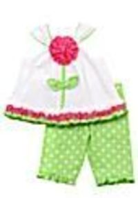 Rare Editions Flower Dot Capri Set - Belk.com