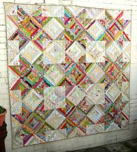 strings of fun quilt on i'm a ginger monkey