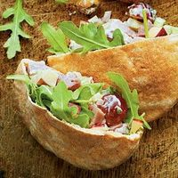 HAM WALDORF SALAD or sandwiches. yields 6 cups. recipe from southernliving.com #christmas #leftovers