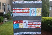 Dr. Suess baby blanket