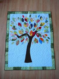 DIY simple tree quilt