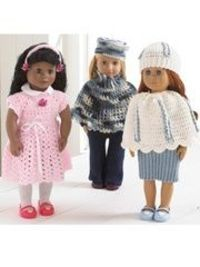"18"" doll crochet patterns."