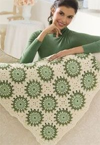 Circles in Octagons Throw WR2039   Free Patterns