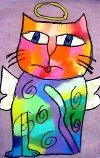 posts similar to laurel burch cats art lesson plan