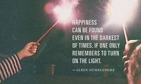 Happiness can be found..