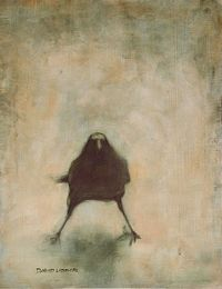 David Ladmore/Crow no. 6; oil painting