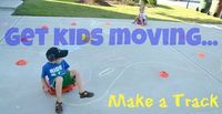Make a Track: Get Moving & Practice Motor Skills from In Lieu of Preschool