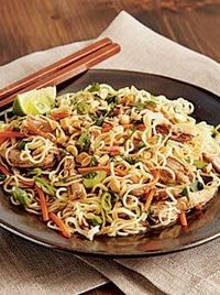 Healthy Chinese Pork Tenderloin Noodles! Great remake of this unhealthy meal to make it healthy and taste delicious! | my recipes