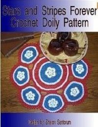 Red, White and Blue Crochet