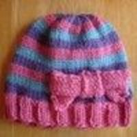 Super Pink Toddler Hat